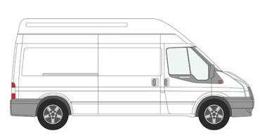 Long Wheel Base Transit Van